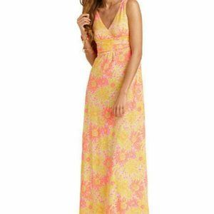 Lilly Pulitzer Sloan Sun Kissed Cotton Maxi Dress